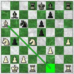 In Douglas-Simutowe, white fought back with 20.Bf1xa6! but black's central pawns were too much.