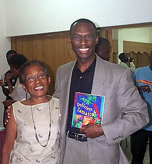 Yvonne McCalla Sobers with Daaim Shabazz