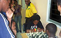 Ras Malaku Lorne vs. FM Warren Elliott. Copyright © 2004, Daaim Shabazz.