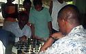 Amon playing coach Byfield. Copyright © 2004, Daaim Shabazz.