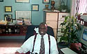 Ian Wilkinson at his law firm. Copyright © 2004, Daaim Shabazz.