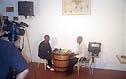 TV interview by FM Warren Elliott Copyright © 2004, Daaim Shabazz.