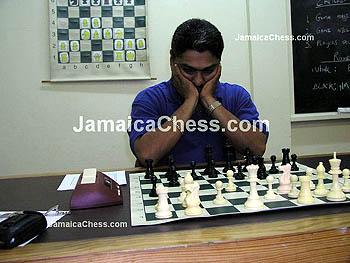 Defending Champion, Shane Matthews. Copyright © 2004, JamaicaChess.com