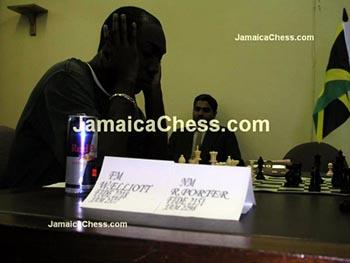 Jamaica's #1, FM Warren Elliott. Copyright © 2004, JamaicaChess.com.