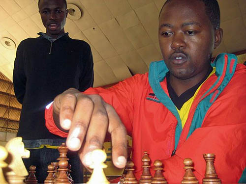 Benjamin Magana, Kenya's top board.