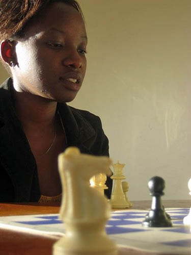 Purity Gachigi, National Women's Champion.