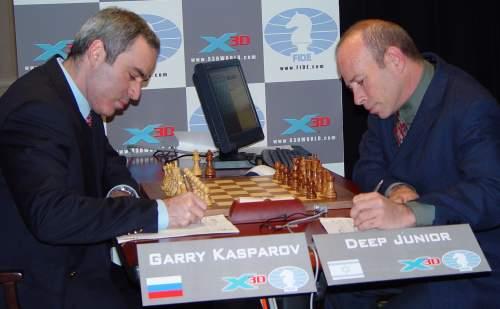 Gari Kasparov vs. Deep Junior