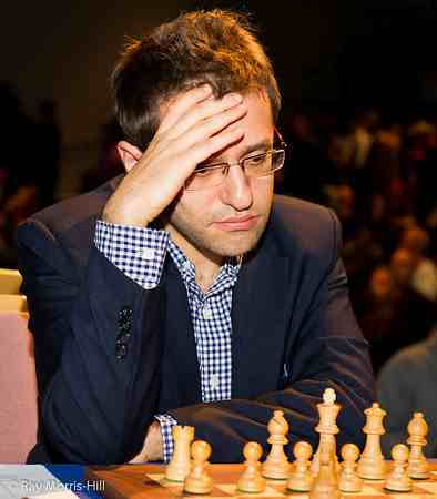 Levon Aronian has been in a mini-slump lately. He was routed in his first game against Hikaru Nakamura.
