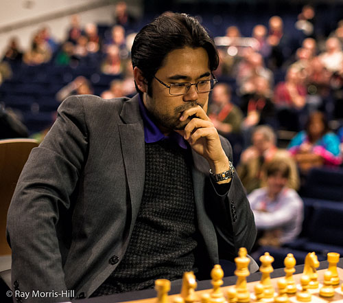 Nakamura scores, but Giri-Kramnik finale will decide 1st. Photos by Ray Morris-Hill.