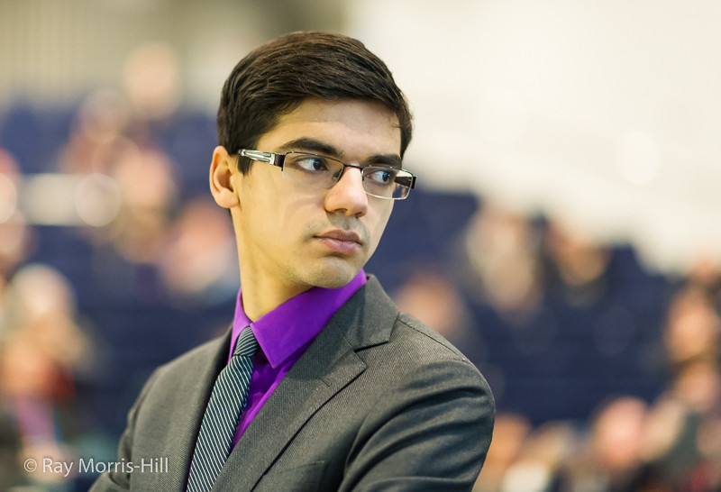 Anish Giri did not lose a single game in the tour, finished with +4, but came up just short of victory. Photo by Ray Morris-Hill.