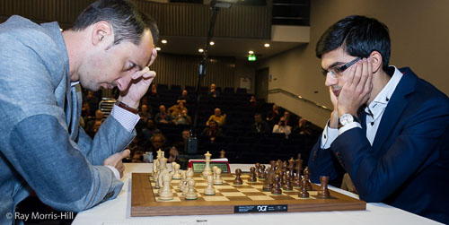 Veselin Topalov and Anish Giri had an epic climax.
