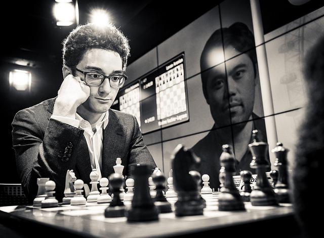 Fabiano Caruana (Round 1) 2018 London Chess Classic