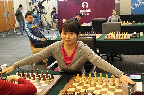 Ju Wenjun preparing for Basque Battle!