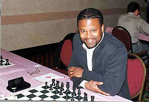 GM Maurice Ashley. Copyright © 2001, Frank Johnson.
