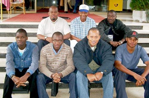 Angola Men's Team, 2002 Olympiad (Bled, Slovenia)