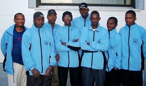 Botswana Men's Team. Copyright © Jerry Bibuld, 2002.