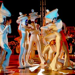 Chess Ballet during Opening Ceremonies. Copyright © Jerry Bibuld, 2002.