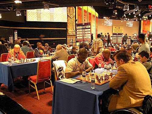 Angola vs. IPCA - (1st row facing camera - right to left) Pedro Aderito - board #1, Eugenio Campos - board #2 (2nd row facing camera - right to left) Catarino Domingos - board #3, Armindo Sousa - board #4