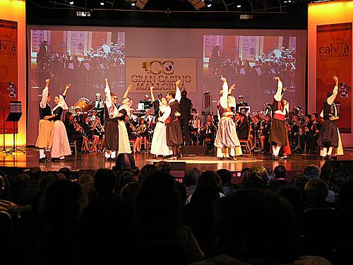 Spanish folk dancing