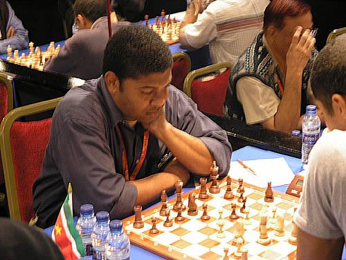 Franklin Mungaroo of Suriname (South America)