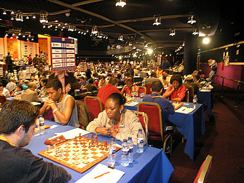 Seychelles at 2004 Chess Olympiad, Mallorca, Spain