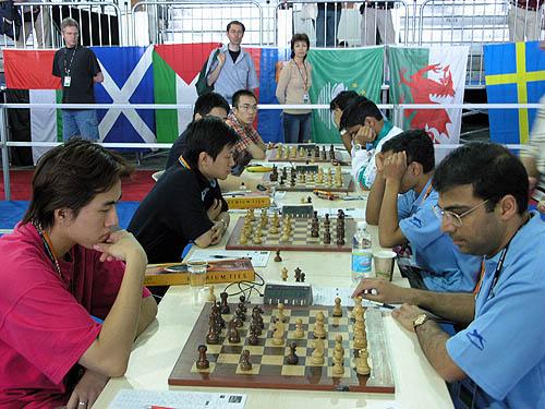 China vs. Russia (men). Copyright © 2006, Daaim Shabazz.
