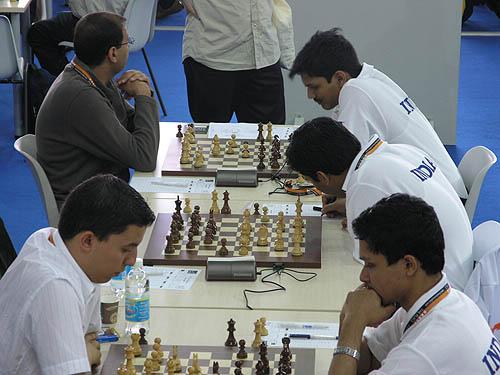 Morocco vs. India. Copyright © 2006, Daaim Shabazz.