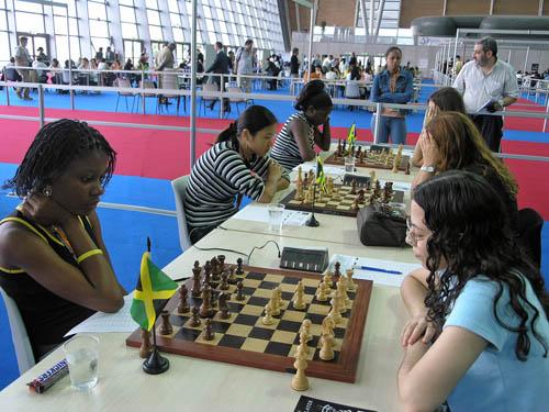 Jamaica vs. Argentina. Copyright © 2006, Daaim Shabazz.