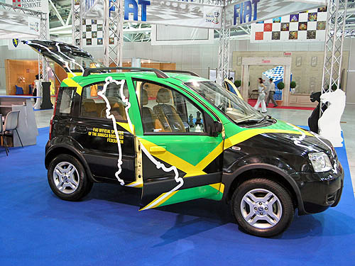 Jamaican Exhibition Car… yea man!. Copyright © 2006, Daaim Shabazz.