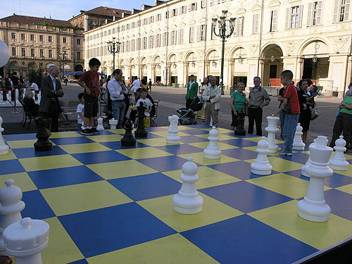 These kids were not the future of Italian chess… trust me!. Copyright © 2006, Daaim Shabazz.