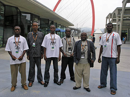 Malawi men's team. Copyright © 2006, Daaim Shabazz.
