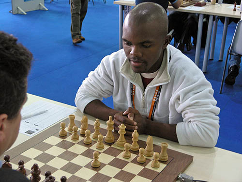 Ignatius Njobvu, national champion of Botswana. Copyright © 2006, Daaim Shabazz.