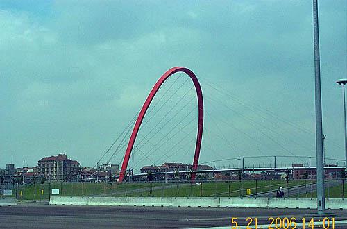 Olympic Arch. Copyright © 2006, Daaim Shabazz.