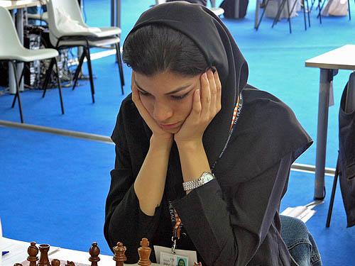 Atousa Pourkashiyan (Iran). Copyright © 2006, Daaim Shabazz.