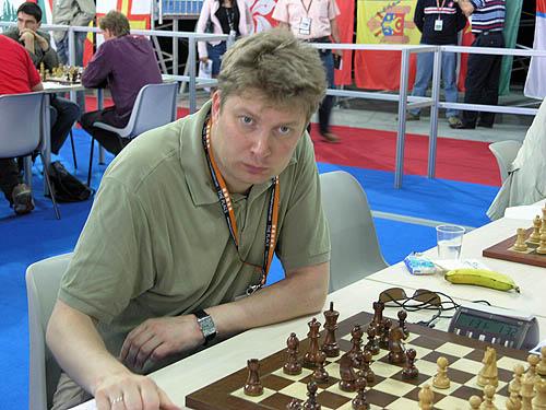 Alexei Shirov (Spain). Copyright © 2006, Daaim Shabazz.