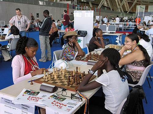 Trinidad vs. Namibia (women). Copyright © 2006, Daaim Shabazz.