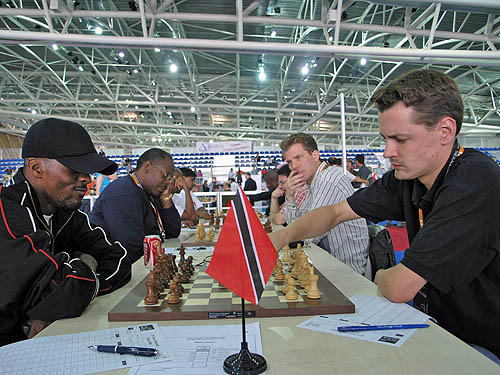 Trinidad vs. Sweden. Copyright © 2006, Daaim Shabazz.