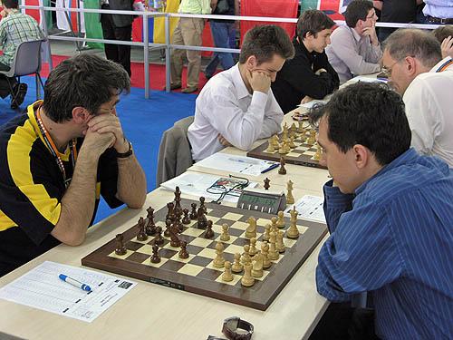 Ukraine vs. Uzbekistan (men). Copyright © 2006, Daaim Shabazz.
