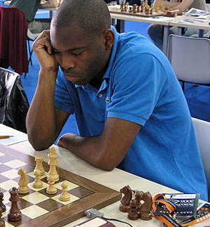Pontus Carlsson at 2006 Chess Olympiad in Turin, Italy.
