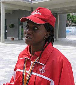 Rosemary Amadasun (Nigeria). Photo by Daaim Shabazz.