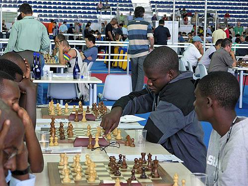 Rwanda vs. Zambia (men). Copyright © 2006, Daaim Shabazz.