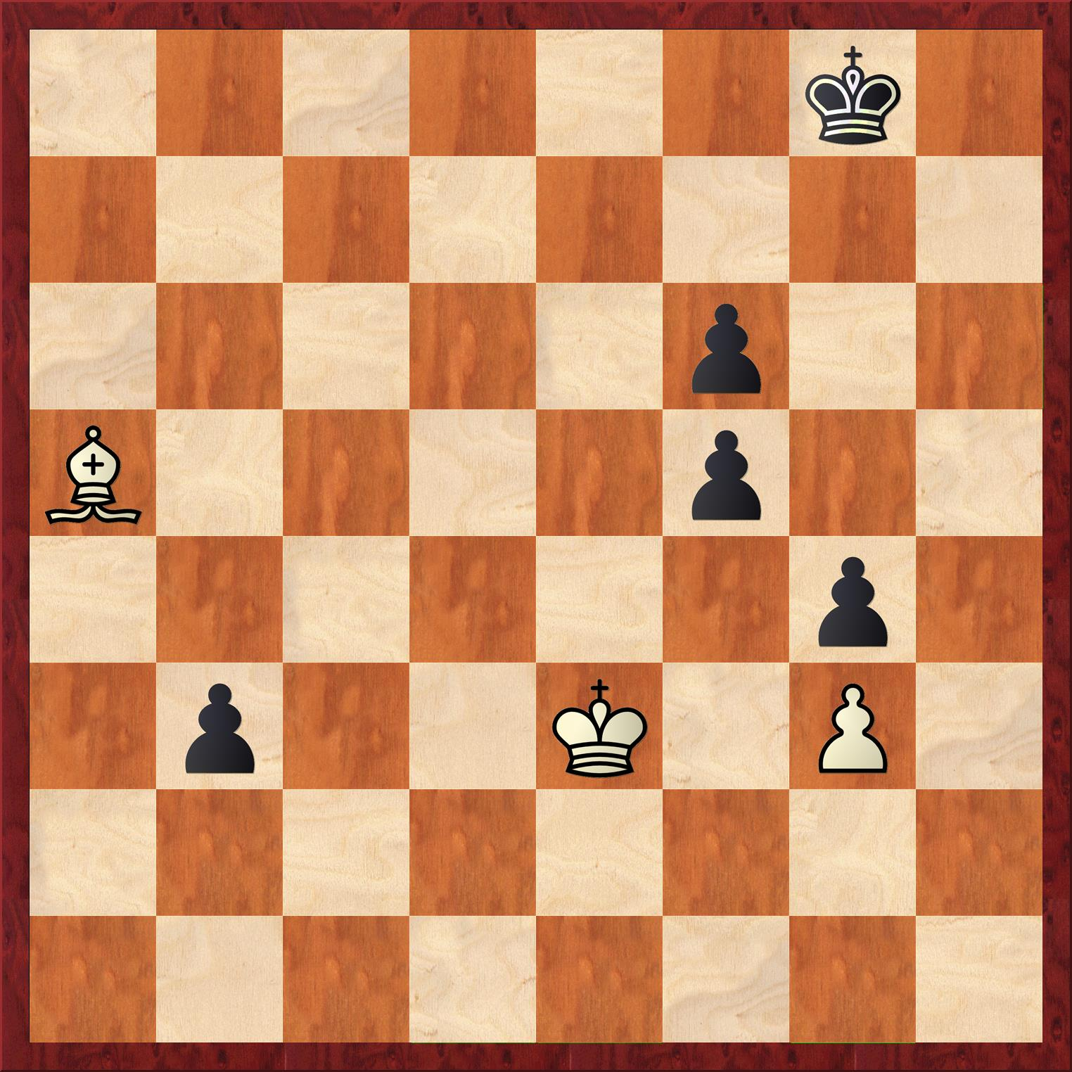 "In Nybäck-Matthews, white apparentlyplayed 47.Kf4 which would lose immediately to 47…b2. After realizing that the move loses immediately, he grabs the piece and ""adjusts"" it, then moved the bishop."