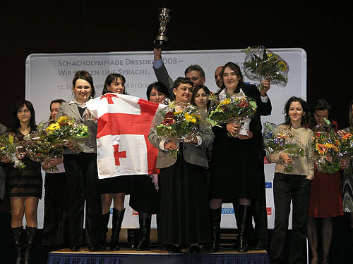 The legendary Maia Chiburdanidze (center) was clearly the leader.