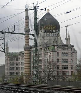 Yenidze, the 'tobacco mosque'