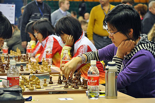 Will China be able to make a run for the gold? Photo by ugra-chess.com.