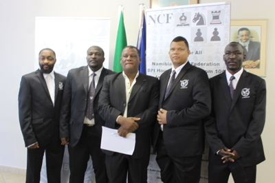 Namibia's 2010 Olympiad team.