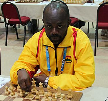 Kojo Hasford, Defending Champion