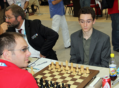 GM Fabiano Caruana.