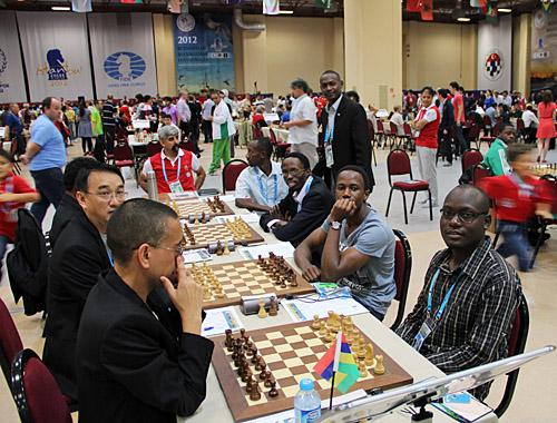 Mauritius vs. Uganda (men)