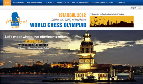 Official Site of the 2012 Chess Olympiad